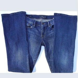 Lucky Brand Womens Jean's Sz 0/25 R Sweet'n Low